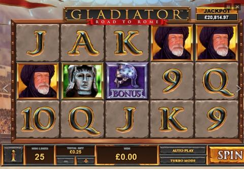 Online Casino «Tragamonedas Gladiator Road to Rome de Playtech»